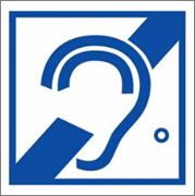 тактильный знак доступности для инвалидов по слуху